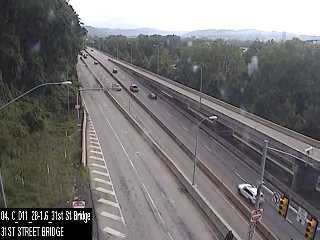 PA 28 at 31st Street Bridge